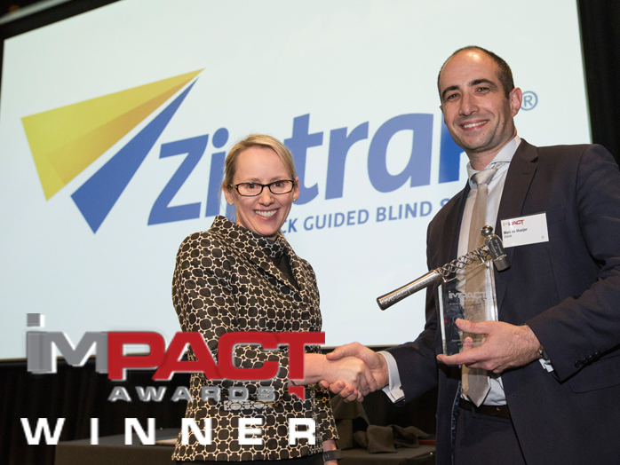 Ziptrak® wins The Impact Awards